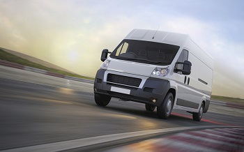 Cargo van shipping expedited freight