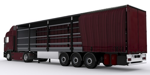 Loads for Conestoga trailers