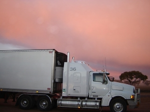 Refrigerated loads for trucks