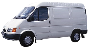 Cargo van from 3PL brokers