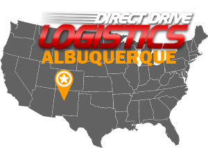 Albuquerque Freight Broker Office Map