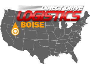 Boise Trucking Logistics Brokerage Firm Map of Local Office