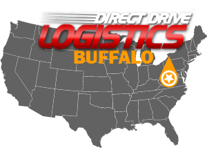 Buffalo Freight Service National Map Local Office