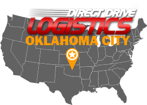 Oklahoma City Freight Consultants National Map Logo