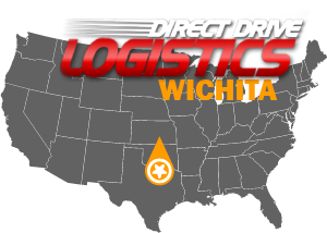 Wichita Freight Consulting Company Nationwide Map Logo